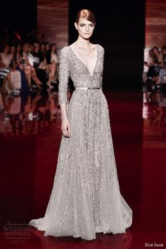 One of my favorites from Saab's Fall/Winter 2013-2014 Haute Couture show
