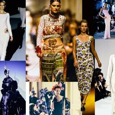 25 Most Influential '90s Fashion Shows - Vogue