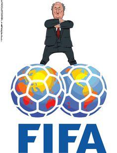 Blatter por um fio por Henrique Monteiro
