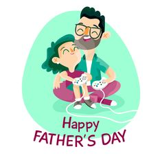 Happy Father s Day vector Vector Free Download, Happy Father, Photo Manipulation, Fathers Day, Vectors, Free Vector Downloads, Father's Day, Ps
