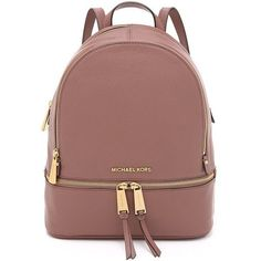 Amazon.com | MICHAEL Michael Kors Women's Small Rhea Backpack |... ($160) ❤ liked on Polyvore featuring bags, backpacks, backpack, accessories, brown backpack, daypack bag, rucksack bags, knapsack bag and day pack backpack #michaelkors #reloj #relojes #relojargentina #relojeargentina #argentina