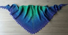 I designed this simple shawl using all of my most favourite aspects of the many small shawls I have made over the years - garter stitch, eyelets and picots.