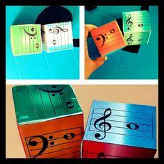 Musicando EAD: DADO MUSICAL - BRINQUE COM AS NOTAS