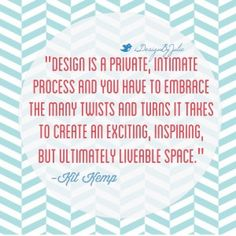 interior design quote - meredith heron interview - simplifiedbee