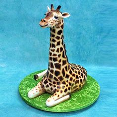 Yeners Cakes on the Gold Coast - 3D Giraffe Cake