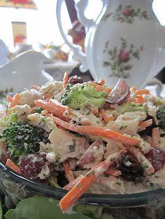 Serendipity Grape Chicken Salad