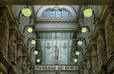 Brussels, Passage du Nord, one of the beautiful galleries in the city