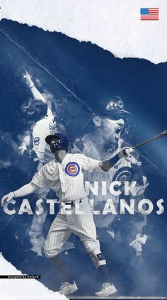 Nick Castellanos, Chicago Cubs, Mlb, Movie Posters, Movies, Films, Film Poster, Cinema, Movie