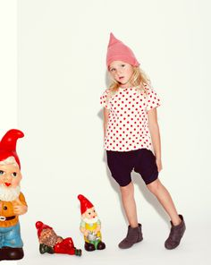 Image of NEW: Red polka dots blouse