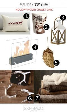 Captivating Chalet Chic   Rustic Glam Decorating Ideas For Christmas