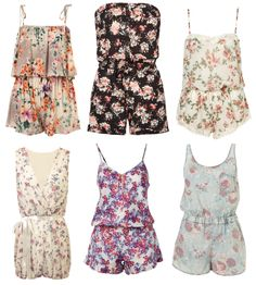 Floral Jumpers - recreate the look http://www.stackdealz.com/product/pom-pom-ball-fringe-romper---floral--lookbook-store/1772