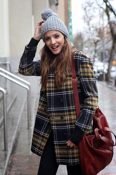 Comfy University Outfit + warm! Substitute kaki parka!