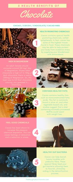 Why being a chocoholic is incredibly healthy. Here are 5 health benefits of eating dark chocolate.