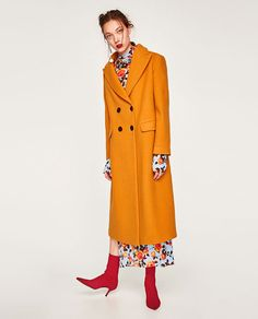изображение 1 из ДЛИННОЕ ДВУБОРТНОЕ ПАЛЬТО от Zara
