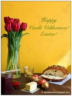 Mazanec Czech Easter Bread - Plus the spanking Czech Easter tradition. via @SpicieFoodie #easter #baking