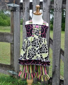 Swing Top and matching Capri set Size 3 by dreamalittledream10, $52.00