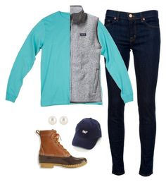 """I'm cold!"" by that-preppy-southern-girl ❤ liked on Polyvore"