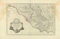 Ruđer Josip Bošković, Paolo Santini.  Nouvelle carte de l'Etat de l'Eglise : divisée en trois seuilles qui peuvent être jointes ensemble avec la Géographie ancienne respective   Venise : par P. Santini, 1776.