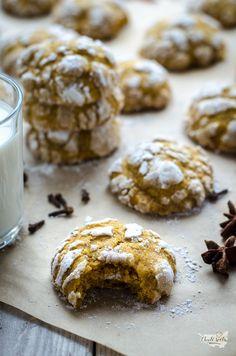 měkké dýňové cookies Cake Cookies, Brownies, Cereal, Muffin, Treats, Breakfast, Sweet, Food, Basket