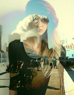 color filter, layered images that inspire interesting ideas, explosion