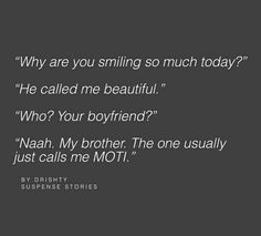 The Scribbled Stories. Brother Birthday Quotes, Little Boy Quotes, Sister Quotes Funny, Brother Sister Quotes, Funny Quotes, Nephew Quotes, Funny Sister, Brother And Sister Relationship, Brother Brother