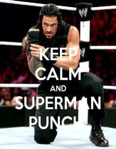 Best Superman Punch  Roman Reigns  Believe In Roman Reigns Welcome to the Roman Empire