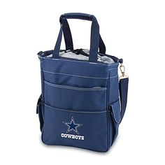 Show team spirit with this water-resistant NFL cooler tote! This tote sports your favorite team's colors and digital print logo on the front and is fully insulated and waterproof.