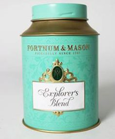 Fortnum's Heathrow T5 ~ Explorer's Blend. we have launched an exclusive new tea, especially for the T5 traveller. An intrepid combination of flavours and styles from the four corners of the tea-producing world. It comprises high-grown, light + delicate Ceylon Orange Pekoe from Nuwara Eliya in Sri Lanka, with rich + heady tippy leaves from north-east India's Assam Valley. The flavour journey is completed with jasmine-scented green tea from China. Available only at Fortnum's Heathrow T5.