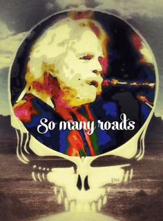 Bob Weir So Many Roads Stealie Grateful Dead Poster, Bob Weir, Dead And Company, Good Ole, Face Art, Best Part Of Me, Bobby, Roads, Artist
