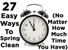<b>Whether you've got five minutes or a whole day, you can totally put your life in order.</b>