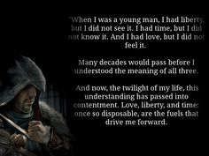 #AssassinsCreed Quote