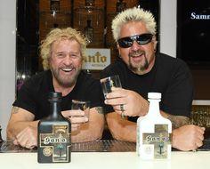 Sammy Hagar presented Santo Fino Blanco tequila, made in partnership with TV chef Guy Fieri, in April Sammy Hagar Tequila, Chef Guy Fieri, Bobby Flay Recipes, Red Rocker, Two Spirit, Tv Chefs, Grill Restaurant, Eddie Van Halen, Old World Style