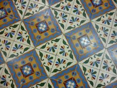 Floor Tile, Colombia