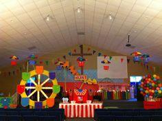 Just saw this on fb and it's so cute! lots of good ideas for VBS decor