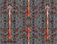 """Для марафона """"Орнаменты Древнего мира"""" #drevniy_mir_dzenart от @dzen.art. N2 Древняя Месопотамия. Задание N1. Привлекло меня ассирийское сакральное дерево. А приемчики те же - рисунок линером, компьютерное наложение на акварель, наложение на фон. Фон сделан из фото каменной кладки. . . . #орнамент #узор #ornament #pattern #искусство #древняямесопотамия #месопотамия #mesopotamia #watercolor #линер #акварель #рисунок #иллюстрация #instaart #dailyart #artstagram #stone #камень #симметрия…"""