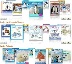 #penguins, #primary books, #january thematic books