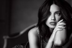 Adriana Lima, Victoria's Secret Angel  pose, lighting and expression. [beautiful]
