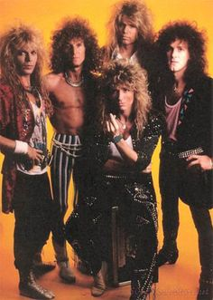 Whitesnake is definitely one of my favourite 80s hard rock bands. Here I Go Again is brilliant!