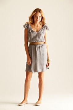 Gray with silver sparkle dots strapless dress | Gray Bridesmaid ...