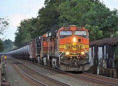 Burlington Northern Santa Fe GE C-44-9W 4942 - Bound Brook, New Jersey