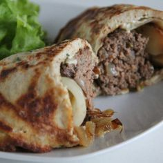 Philly Yorkshire Wrapped Beef Roll with cream cheese #yum