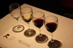Wine tasting, always a crowd pleaser