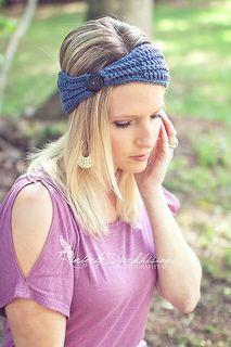 Ribbed Headband (12-24M, 2-5Y, 5-8Y, YA & A individual size patterns) by Salena Baca
