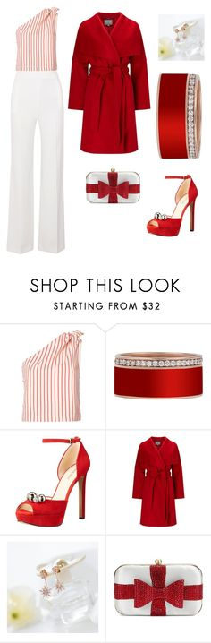 """""""Peppermint"""" by o-t-mcpeters ❤ liked on Polyvore featuring Rosie Assoulin, Nine West, Phase Eight, DOSE of ROSE, La Regale and Roland Mouret"""