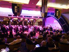 Ballroom Dancing in the Queen's Room - Queen Mary 2  Photo: Calvin Wood