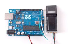 Fingerprint reader with Arduino.