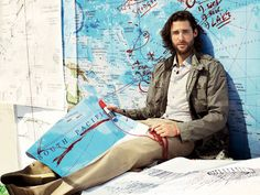 David de Rothschild-sailed from San Francisco to Sydney on a sailboat all made out of plastic bottles to raise awareness to the global plastic waste problem