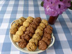 Sušenky cookies Crinkles, Dog Food Recipes, Cauliflower, Cereal, Cupcakes, Cookies, Vegetables, Breakfast, Blog