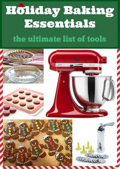 Here are my 10 holiday baking essentials - the ultimate list of tools I love!