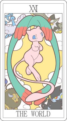 ", . Really, the only thing I need to say here is something like ""OMG super kawaii Pokemon tarot deck FTW,"" right? I mean, I could go o...  I want this deck .... !!!!!!!"